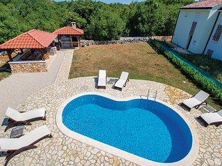 Villa in Krk-Kras, Island Of Krk, Croatia, Garica