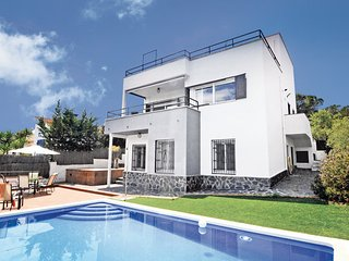 6 bedroom Villa in Sant Pol de Mar, Costa De Barcelona, Spain : ref 2239658
