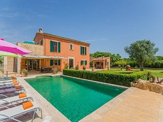 5 bedroom Villa in Manacor, Mallorca, Mallorca : ref 2259677, Son Macia