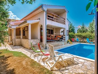 3 bedroom Villa in Krk-Njivice, Island Of Krk, Croatia : ref 2277374