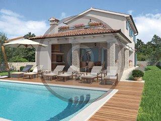 Villa in Labin-Vlasici, Labin, Croatia, Krsan