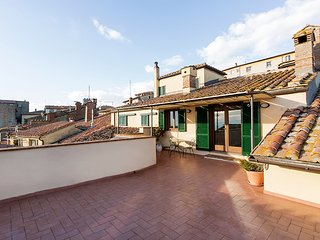 Apartment La Terrazza Cortonese, luxury and view in Cortona