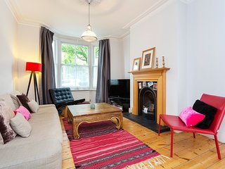 A lovely house in Acton, that sleeps six with three bedrooms, playful mixture of interior design, London