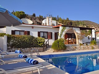 Stunning Hillside Sea View Villa with Private Pool, Tala