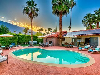 Palm Springs Home with Private Pool, Spa, Fire Pit