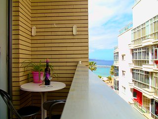 20 meters from Canteras Beach, with balcony