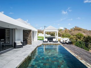 Villa Aya in St Jean the most fashionable area on St Barts, ideal for families