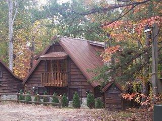 Sandpiper Cabin: Lake Lure Log Cabin Rental