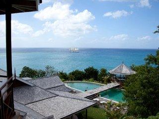 Lovely 6 Bedroom Villa in Marigot Bay, Baia di Marigot