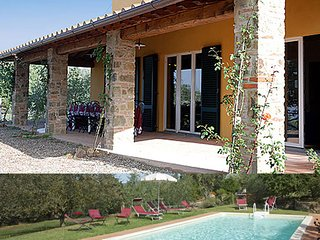 Villa with swimming pool in Tuscany, Lucignano