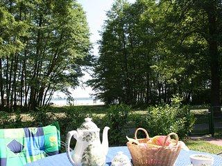 Bungalow am Grimnitzsee mit Seeblick