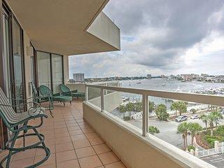 Waterfront Destin Condo w/Patio and Pool Access!