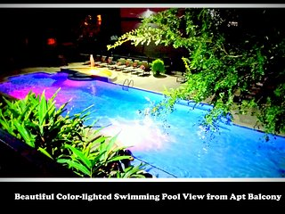 (1124) Sleeps 8, TX Med Ctr; 2 bed/2 bath, POOL VIEW APT.