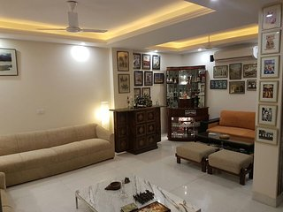 4 Bedroom service apartment in posh GK2South Delhi
