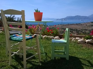 Villa Grabella Amazing Komo beach view and Psiloritis mountains, Pitsidia