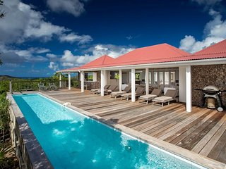 Villa Supersky at St. Jean, St. Barth - 2 Pools, Spacious Terrace