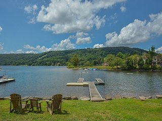 Lake & slope views within minutes from area activities!
