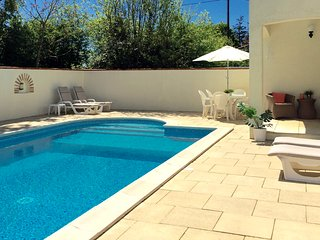 Luxury Villa With Private Heated Pool, Le Champ-Saint-Pere