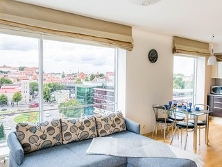 Apartment with city view in Viru Square, Tallinn
