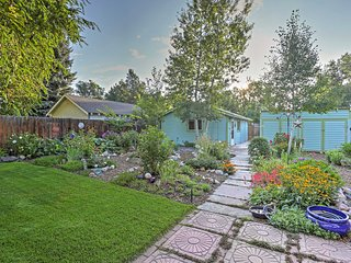 Lovely Fort Collins Studio w/ Beautiful Garden!