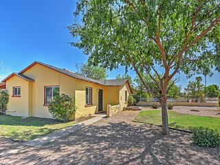 NEW! 2BR Phoenix House w/ Fenced Private Yard!