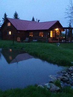 Heavenly nights at the cabin!!