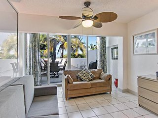 Modern, oceanfront condo near beach w/ view, pool, and other resort amenities, Miami Beach