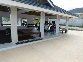 Communal Gym right by the pool in Coolshade
