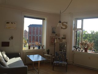 Lovely Copenhagen apartment with artistic decor, Kopenhagen