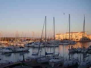 Vue imprenable sur le port de Frontignan - Mer 50m