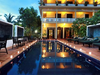 Stay at Kiri residence, Fell at home, Siem Reap