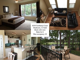 Lakeside Condo with beautiful water view. Sleeps 6, Miramar Beach
