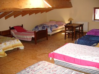 Mas Le Sague Main House Dormitory B & B  Price is Per Person 30euros Per  Night