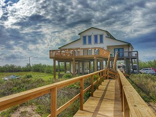 Beautiful Cape Cod Style home and a secluded section of County beach