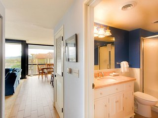 Spacious condo steps from the beach w/ shared pool & sauna, dogs welcome, Seaside