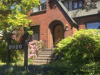A Tudor style single family home is available, Seattle