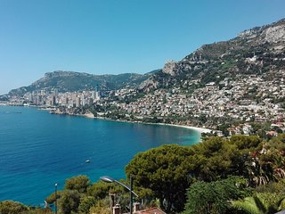 Stylish Apartment with Magnificent Monaco Views, Roquebrune-Cap-Martin