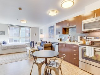 Modern, well-appointed condo near Lake Union & Space Needle - dogs OK!, Seattle