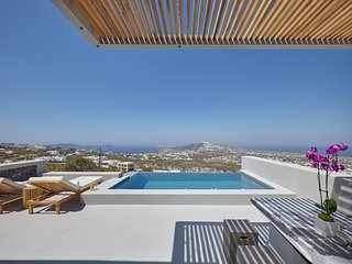 Newest Luxury Villa in Santorni, Pyrgos