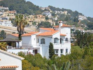 Prachtige villa met adembenemend zicht op zee, Moraira