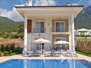 Luxury Villa, private pool, superb views, wifi, Ölüdeniz