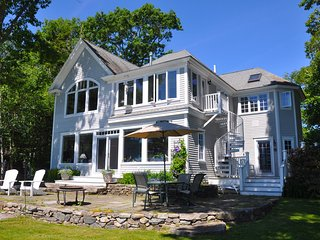 Dramatic Oceanfront Home on Casco Bay, Freeport