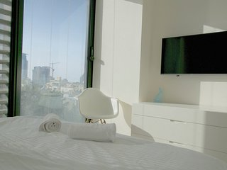 Architect condo with sea view - Neve Tzedek, Tel Aviv