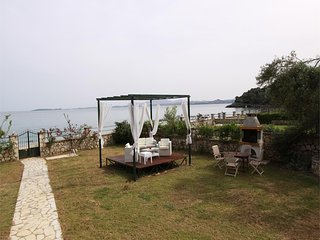 Beachfront Barbati villa 1