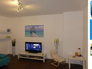 Schöne sonnige Wohnung Nähe Zentrum Free WiFi, Jena