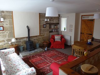 Cottage with access to spa and pool near Alnwick