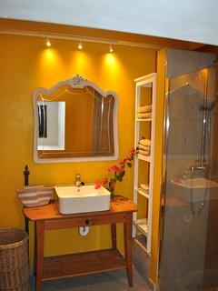 Badezimmer 1 in der Casa El Limon
