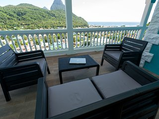 SAPPHIRE APARTMENT 2, ST. LUCIA - $1M VIEWS; GREAT LOCATION, SOUFRIERE