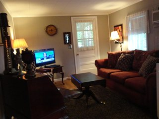 32' Flat Screen with Satellite TV. WIFI in all seven Cabins.