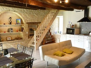 Self catering Cottage - Gite Les Faluns, Trefumel